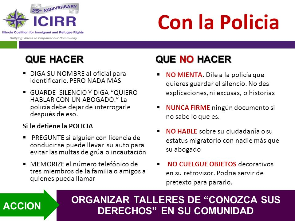 ORGANIZAR TALLERES DE CONOZCA SUS DERECHOS EN SU COMUNIDAD