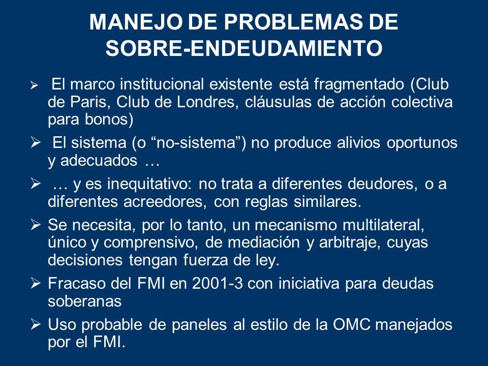 MANEJO DE PROBLEMAS DE SOBRE-ENDEUDAMIENTO