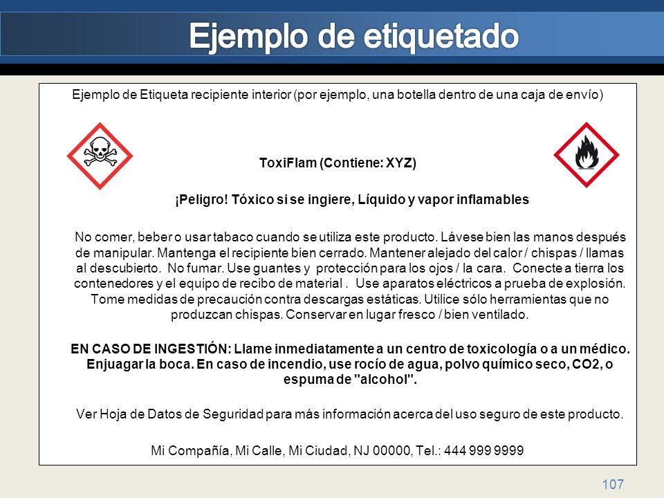 ToxiFlam (Contiene: XYZ)