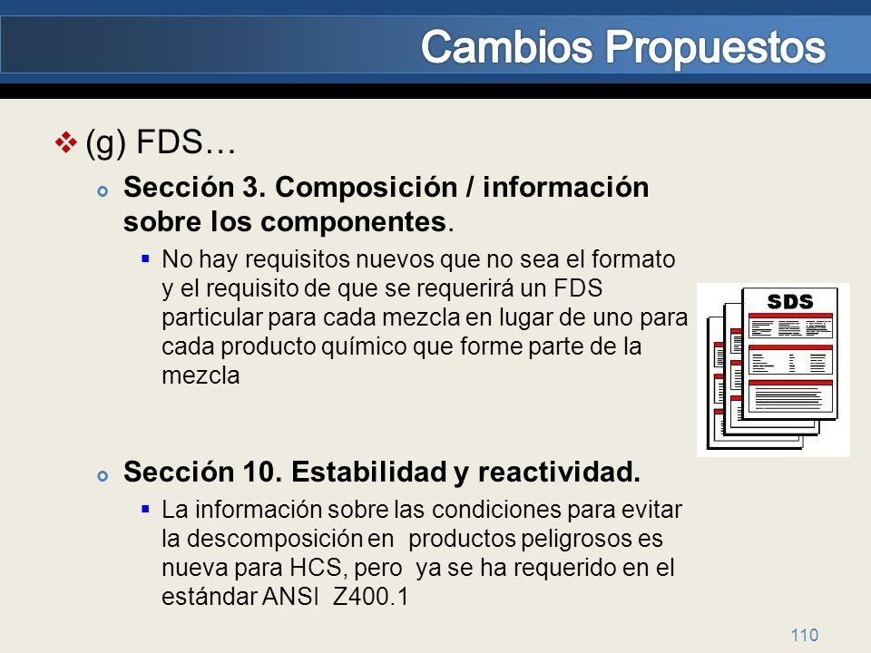 Cambios Propuestos (g) FDS…