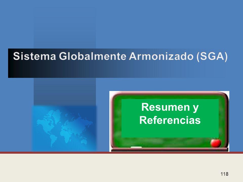 Sistema Globalmente Armonizado (SGA)