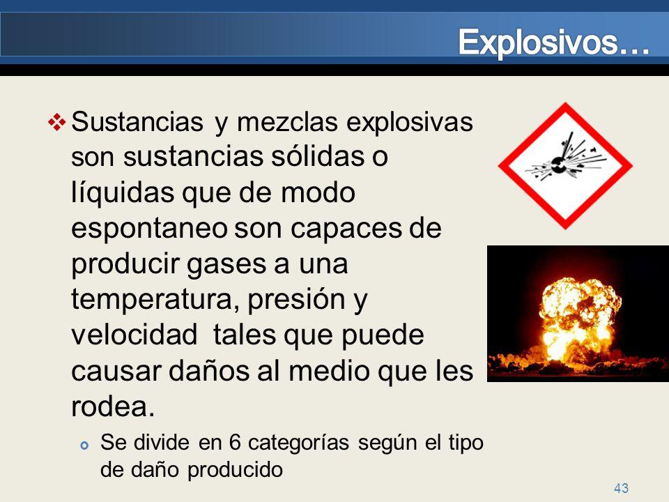 Explosivos…