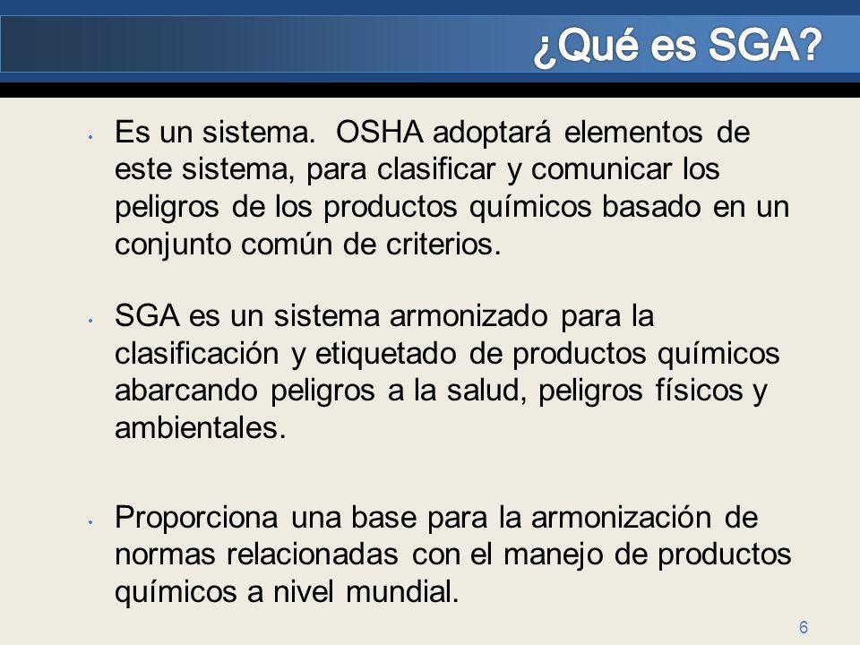 ¿Qué es SGA