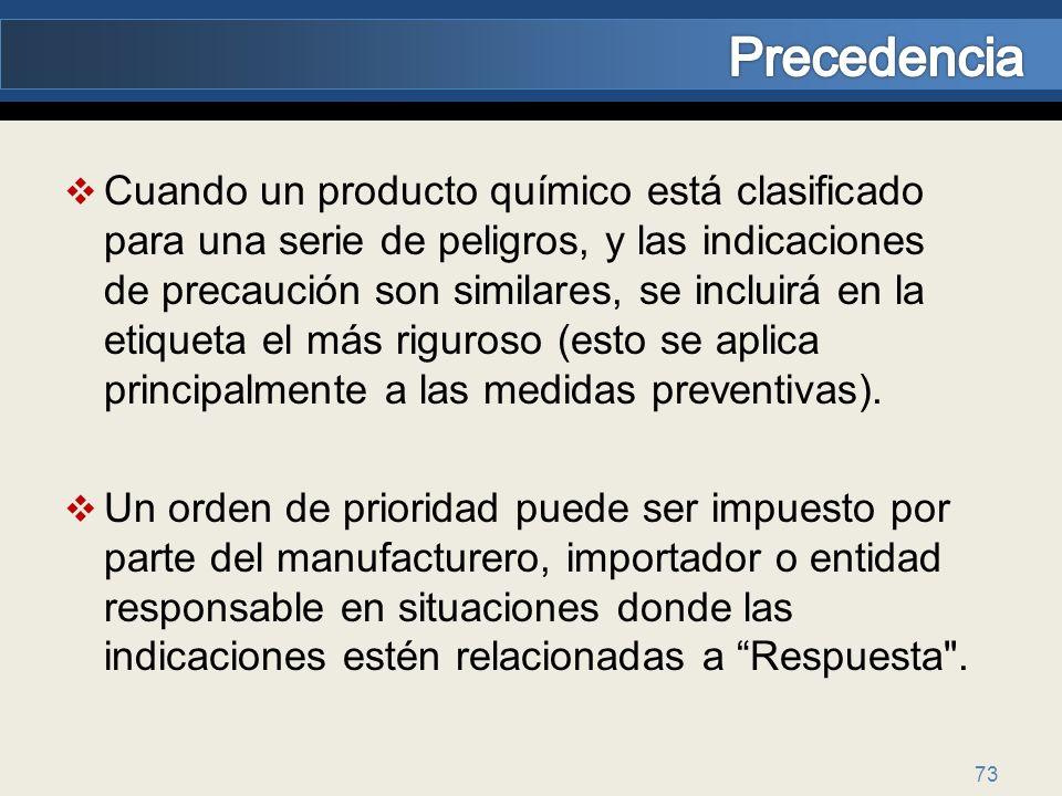Precedencia