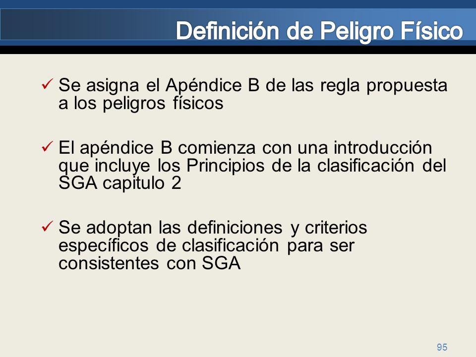 Definición de Peligro Físico