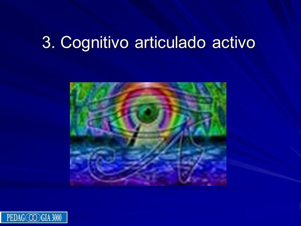 3. Cognitivo articulado activo