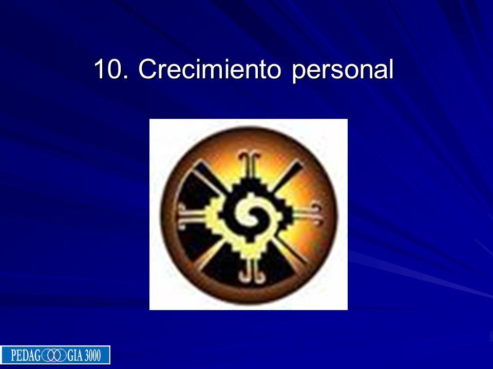 10. Crecimiento personal