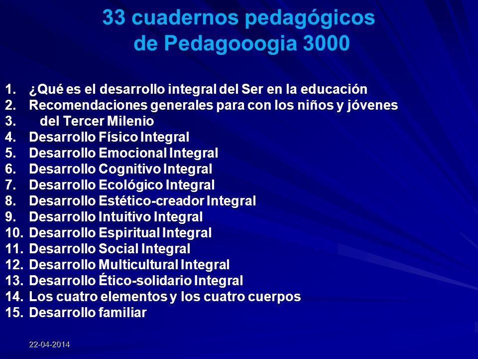 33 cuadernos pedagógicos
