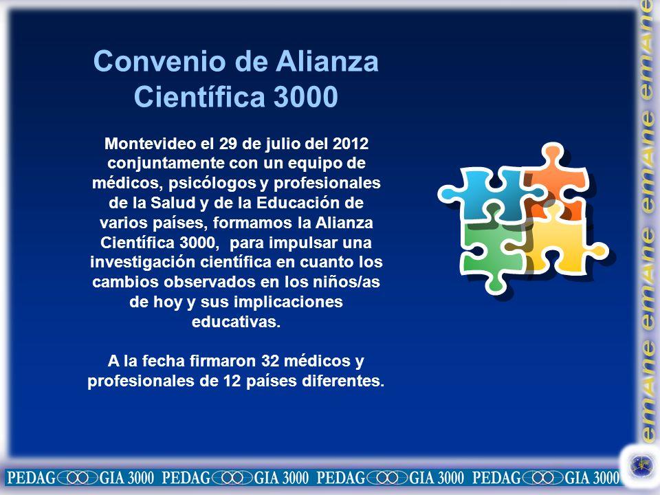 Convenio de Alianza Científica 3000