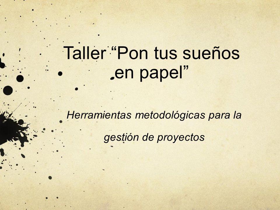 Taller Pon tus sueños en papel