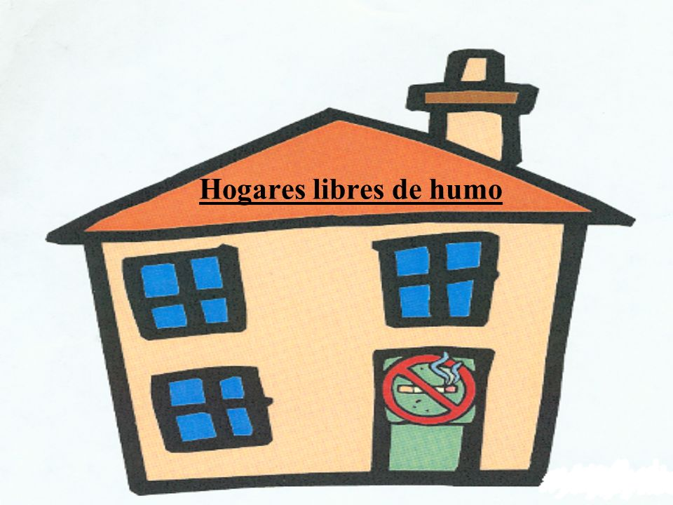 Hogares libres de humo Talking Points: Hello and welcome,