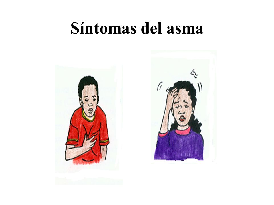 Síntomas del asma Talking Points: Some common Asthma symptoms are: