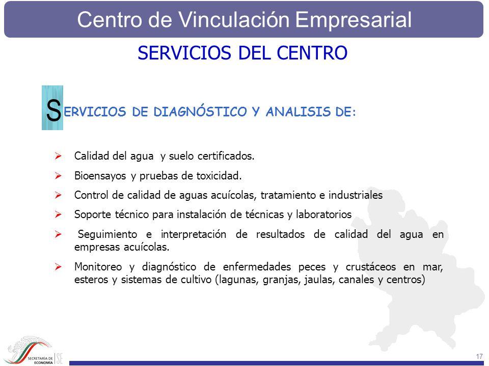 S SERVICIOS DEL CENTRO ERVICIOS DE DIAGNÓSTICO Y ANALISIS DE: