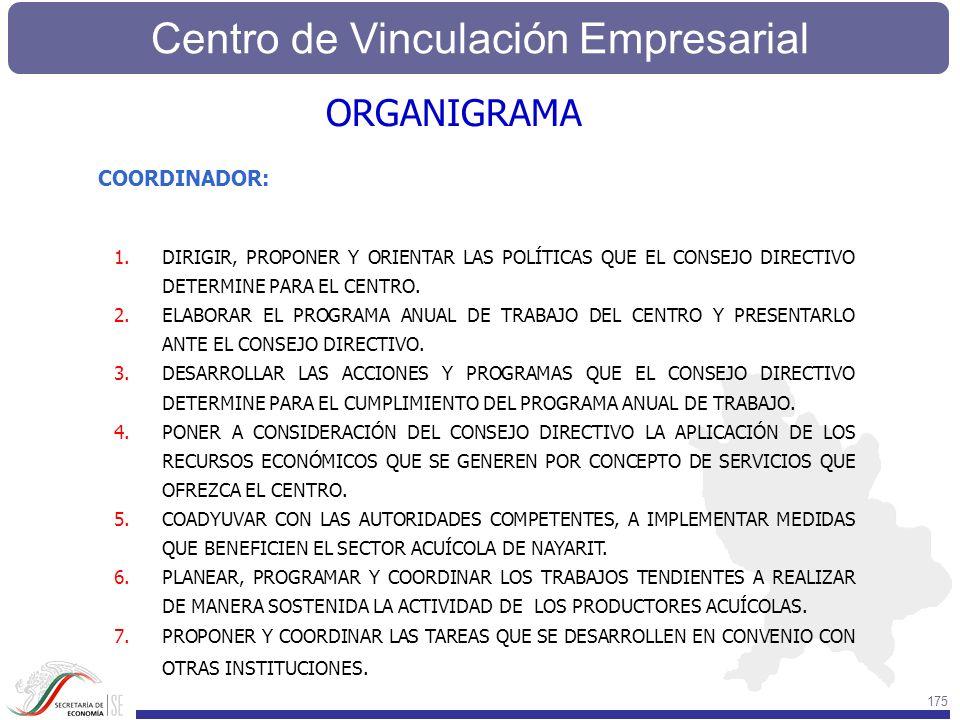 ORGANIGRAMA COORDINADOR: