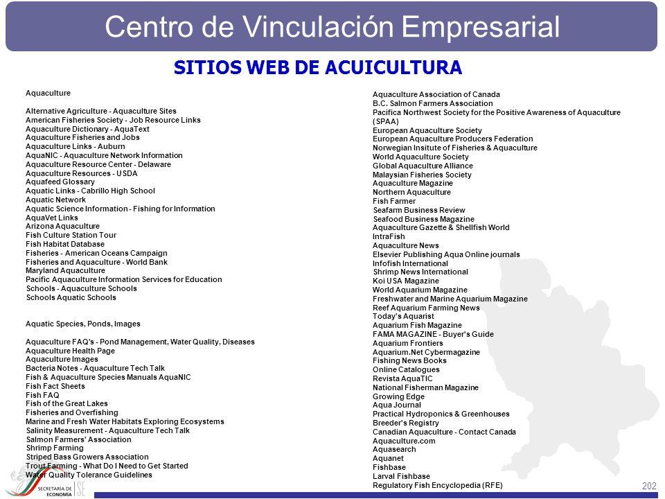 SITIOS WEB DE ACUICULTURA