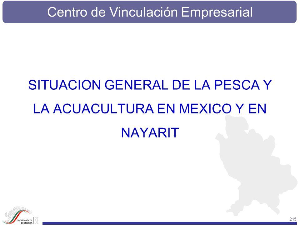 SITUACION GENERAL DE LA PESCA Y LA ACUACULTURA EN MEXICO Y EN NAYARIT