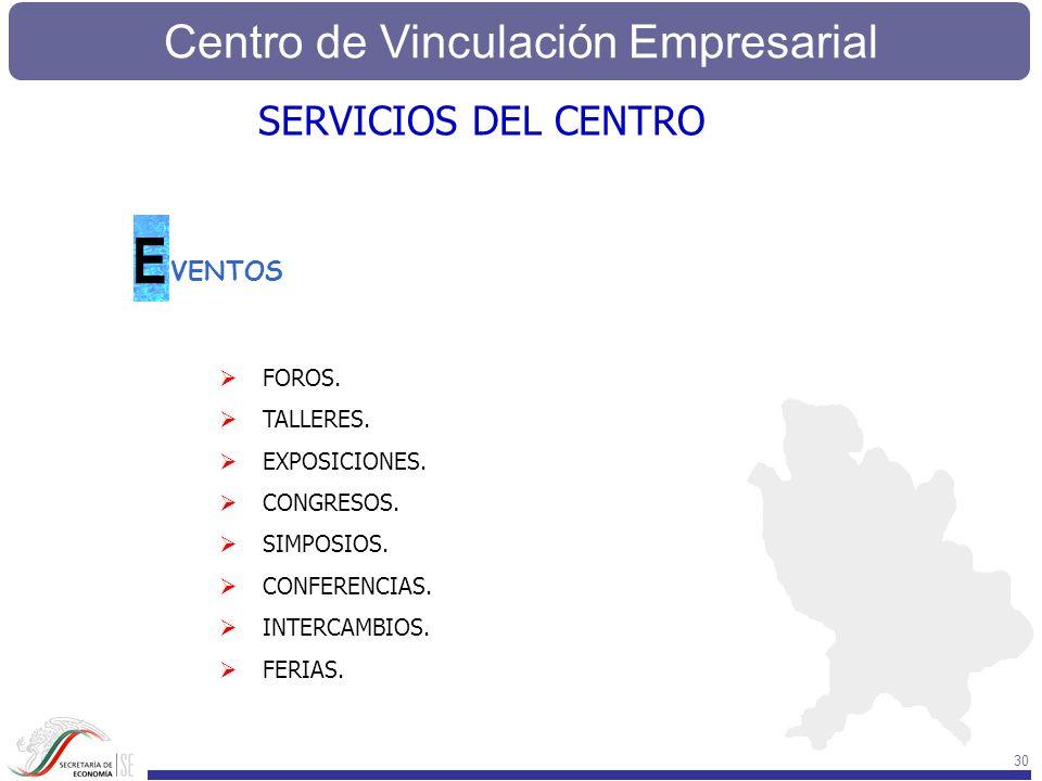 E SERVICIOS DEL CENTRO VENTOS FOROS. TALLERES. EXPOSICIONES.