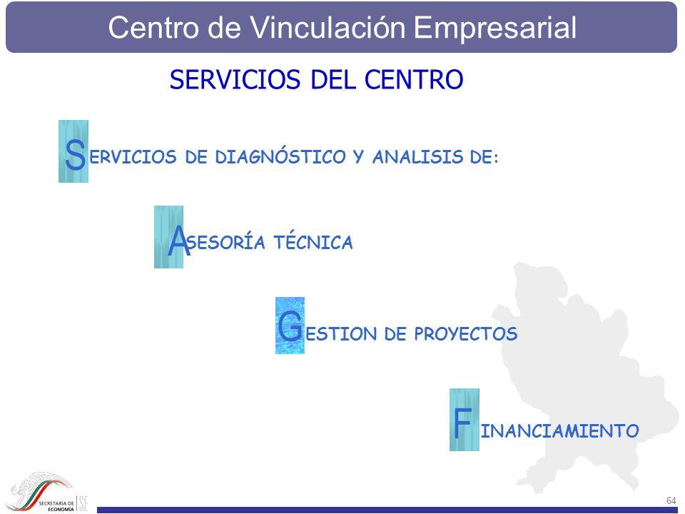 S A G F SERVICIOS DEL CENTRO ERVICIOS DE DIAGNÓSTICO Y ANALISIS DE: