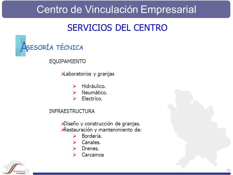 A SERVICIOS DEL CENTRO SESORÍA TÉCNICA EQUIPAMIENTO