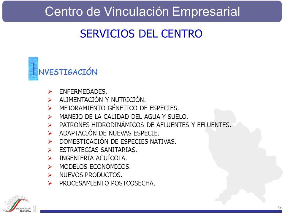 I SERVICIOS DEL CENTRO NVESTIGACIÓN ENFERMEDADES.