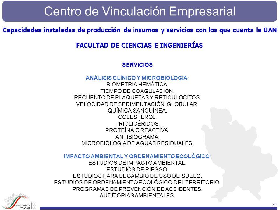 FACULTAD DE CIENCIAS E INGENIERÍAS