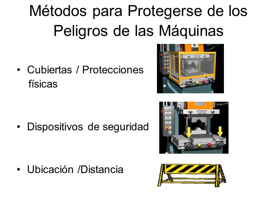 Métodos para Protegerse de los Peligros de las Máquinas