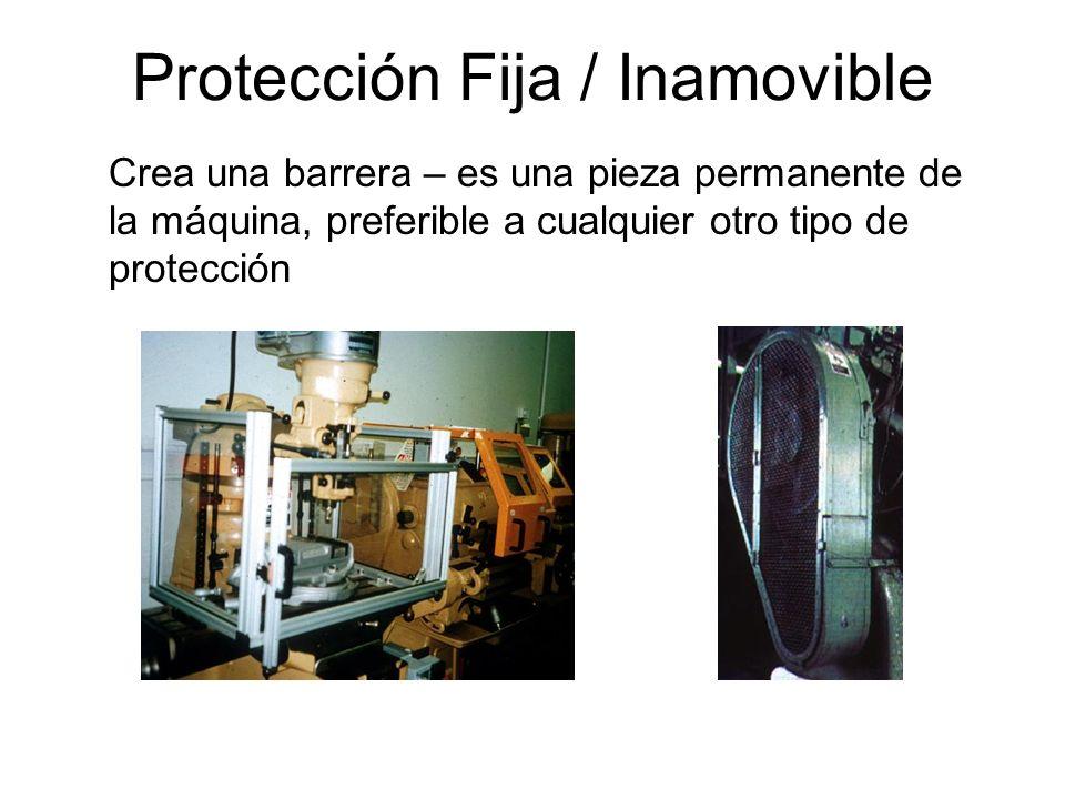 Protección Fija / Inamovible