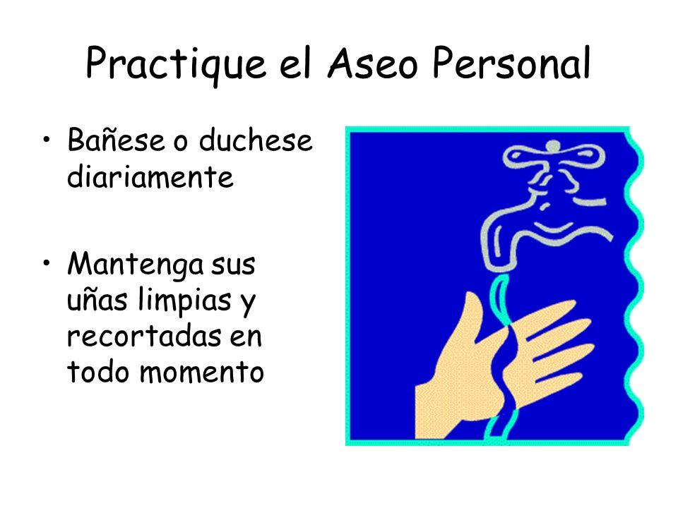 Practique el Aseo Personal