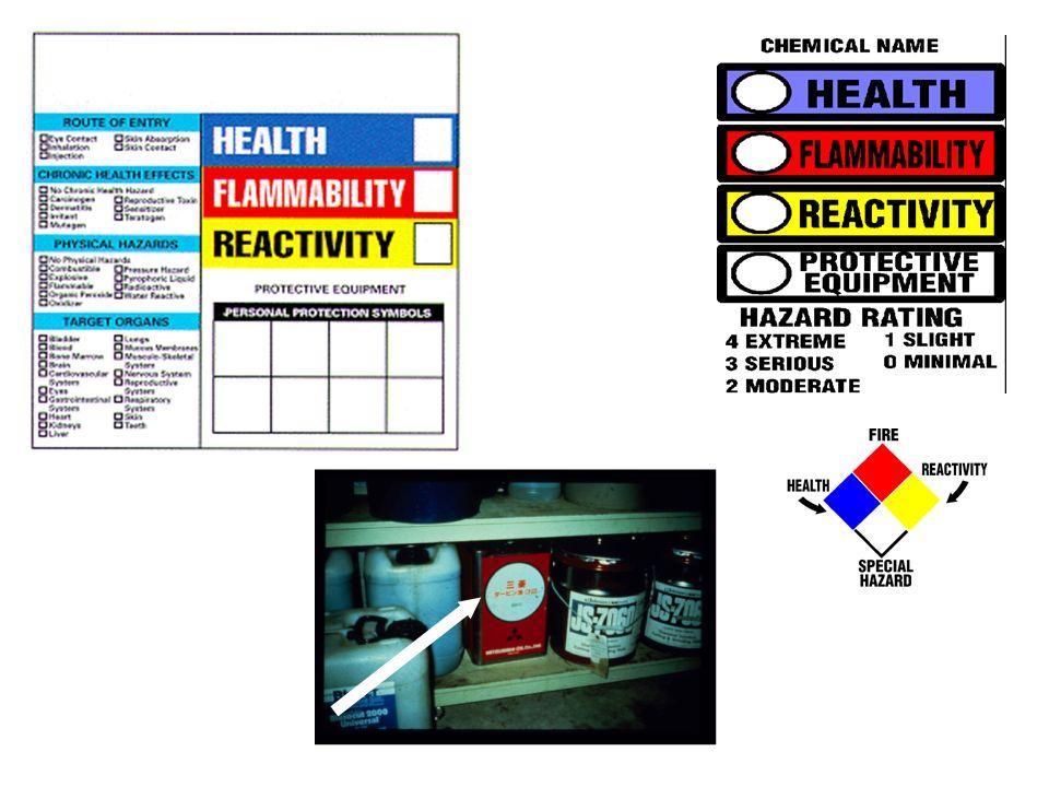 La información en las etiquetas o rótulos informativos deben ser en Inglés
