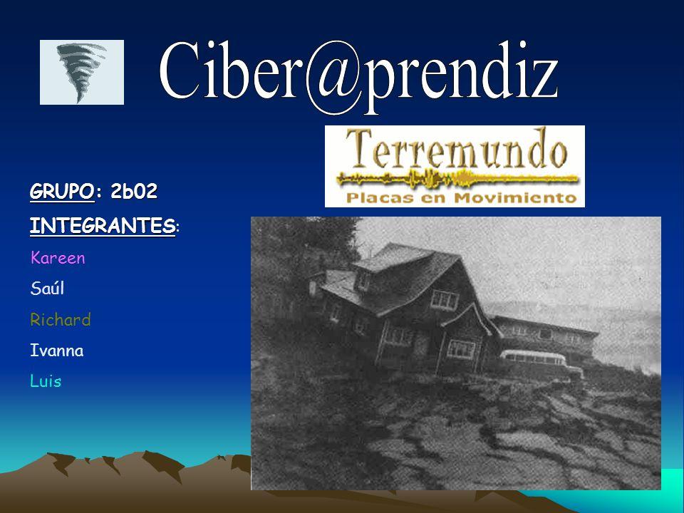 Ciber@prendiz GRUPO: 2b02 INTEGRANTES: Kareen Saúl Richard Ivanna Luis