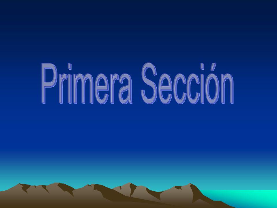 Primera Sección