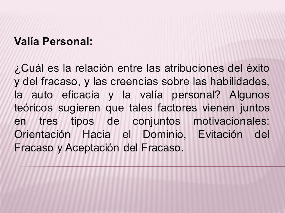 Valía Personal: