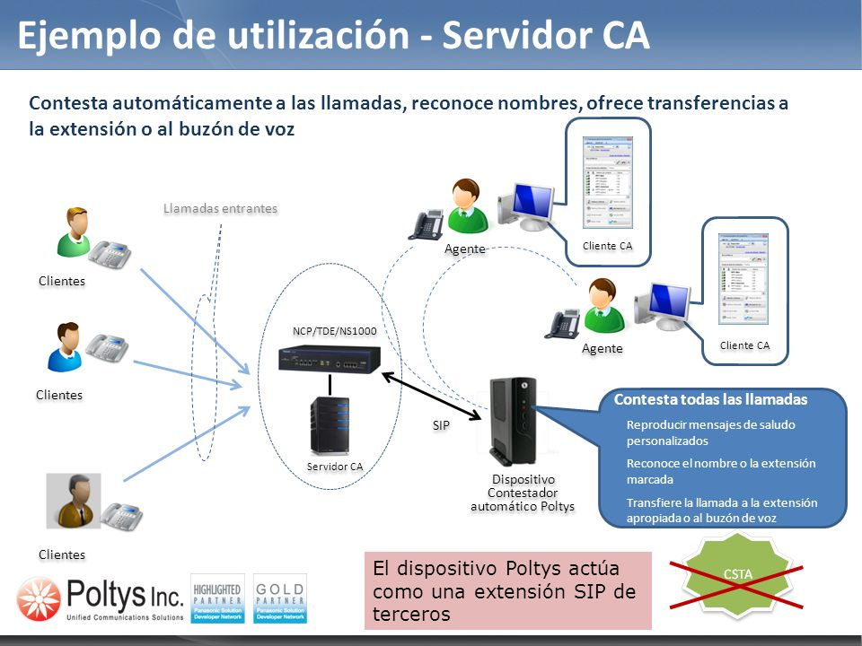 Ejemplo de utilización - Servidor CA