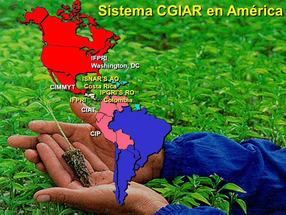 Sistema CGIAR en América