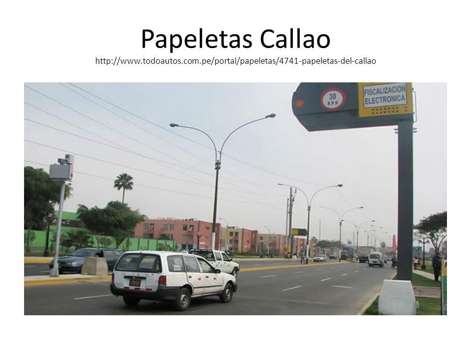 Papeletas Callao http://www. todoautos. com