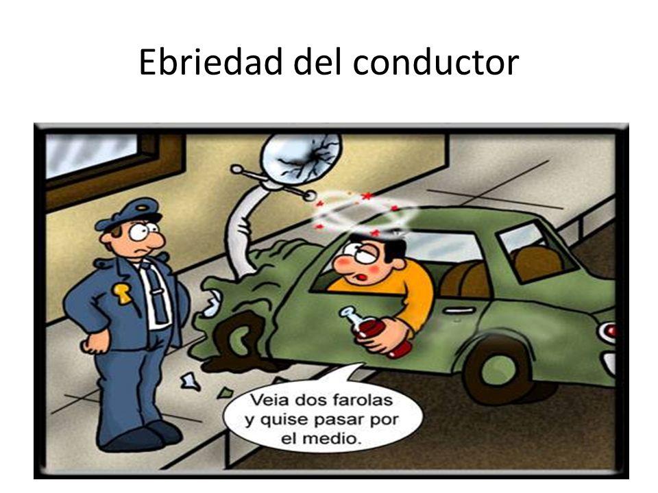 Ebriedad del conductor