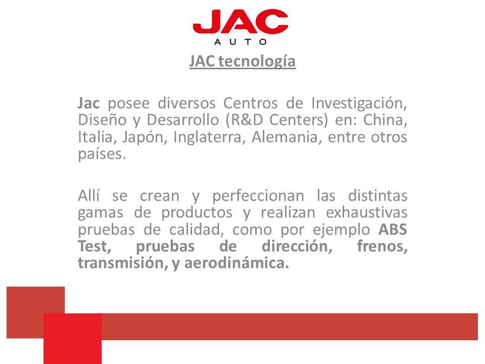 JAC tecnología