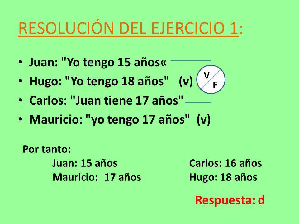 RESOLUCIÓN DEL EJERCICIO 1: