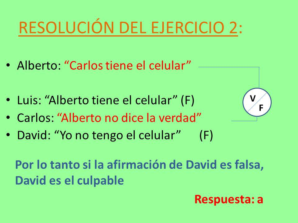RESOLUCIÓN DEL EJERCICIO 2: