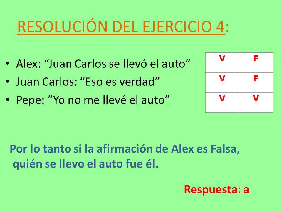 RESOLUCIÓN DEL EJERCICIO 4: