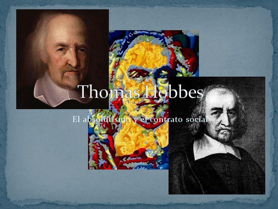 El absolutismo y el contrato social