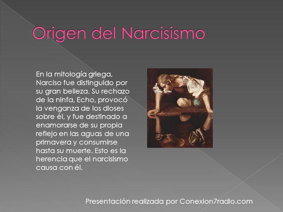 Origen del Narcisismo