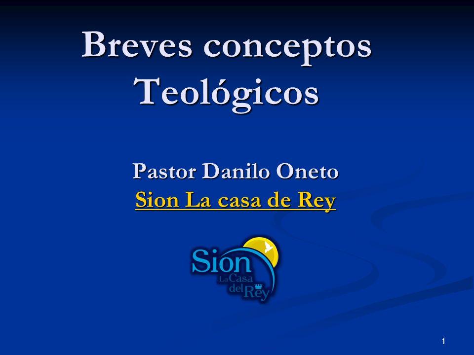 Breves conceptos Teológicos
