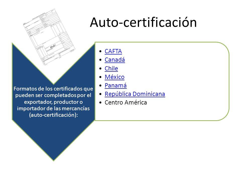 Auto-certificación
