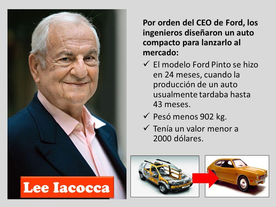 Por orden del CEO de Ford, los ingenieros diseñaron un auto compacto para lanzarlo al mercado: