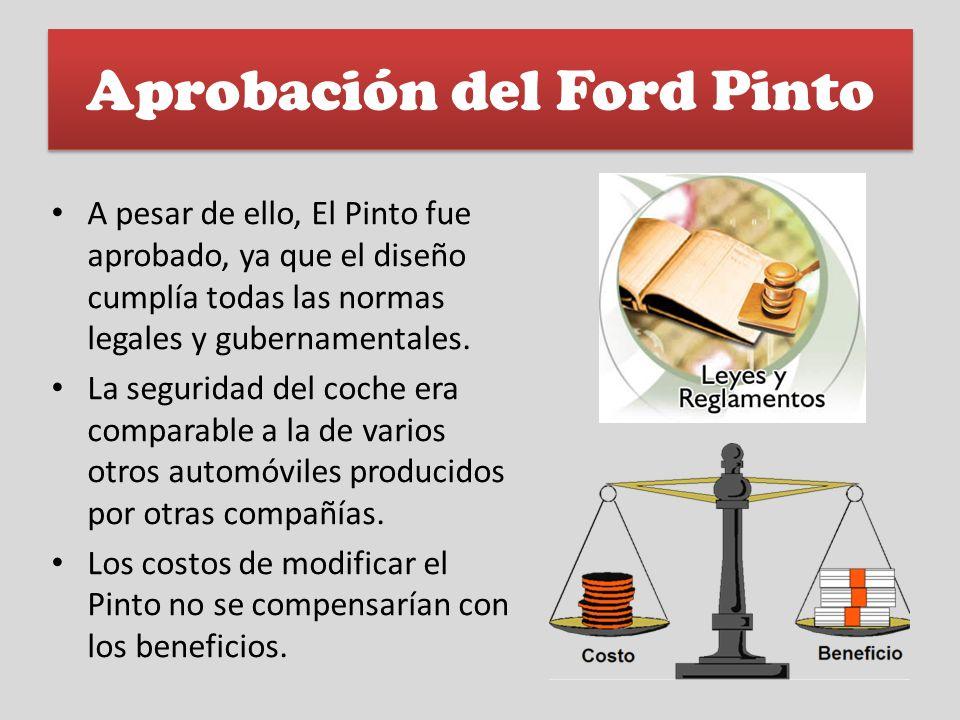 Aprobación del Ford Pinto