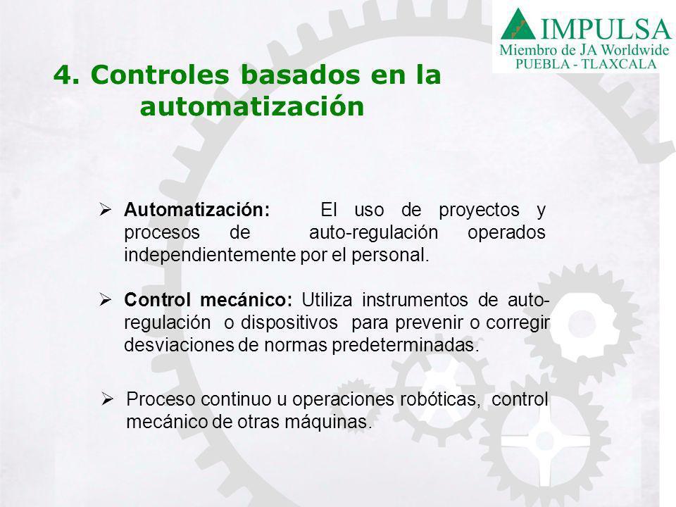 4. Controles basados en la