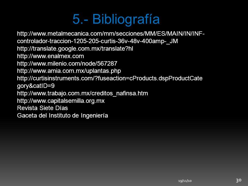 5.- Bibliografía http://www.metalmecanica.com/mm/secciones/MM/ES/MAIN/IN/INF-controlador-traccion-1205-205-curtis-36v-48v-400amp-_JM.