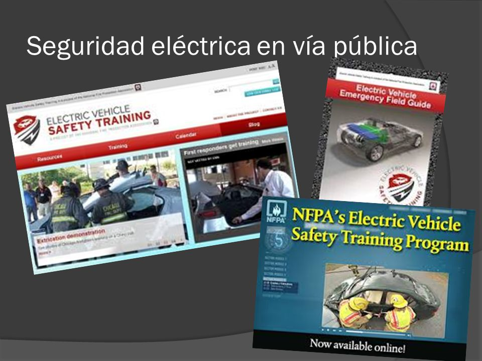 Seguridad eléctrica en vía pública