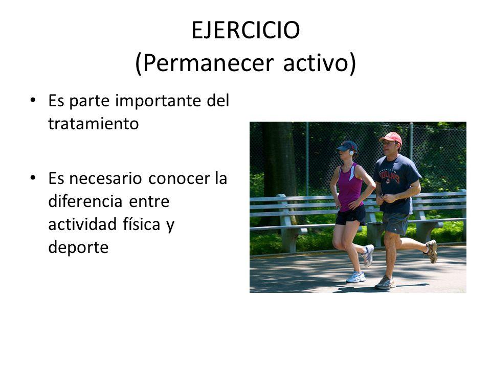 EJERCICIO (Permanecer activo)